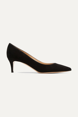 Gianvito Rossi 55 Suede Pumps