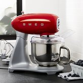 Crate & Barrel Smeg Red Stand Mixer