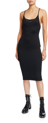 Alexander Wang Tech Bodycon Midi Dress
