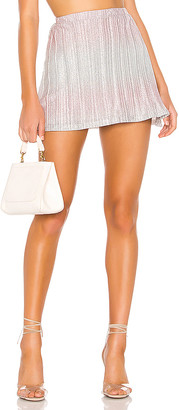 superdown Willow Pleated Mini Skirt