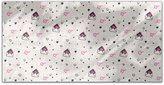 uneekee Heartfelt Love Letters Rectangle Tablecloth: Small Dining Room Kitchen Woven Polyester Custom Print