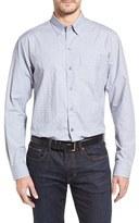Cutter & Buck Men's Big & Tall Starboard Jacquard Sport Shirt