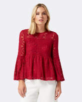 Forever New Florence Embroidered Top