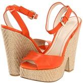 Nine West TroisChic (Light Orange Leather) - Footwear