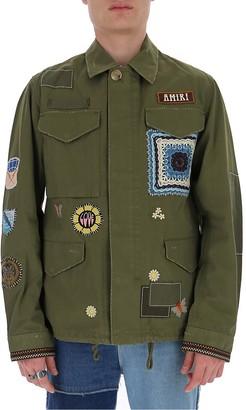 Amiri Patch Detail Jacket