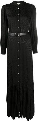 MICHAEL Michael Kors Floral-Jacquard Maxi Dress