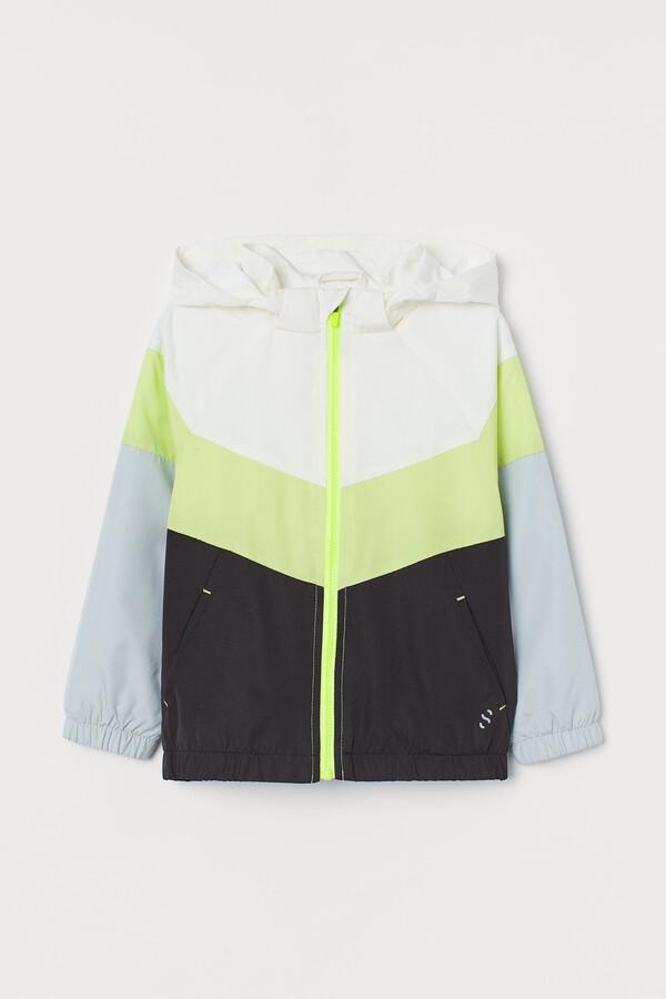 H&M Block-coloured windbreaker