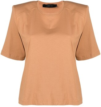 FEDERICA TOSI structured shoulder T-shirt