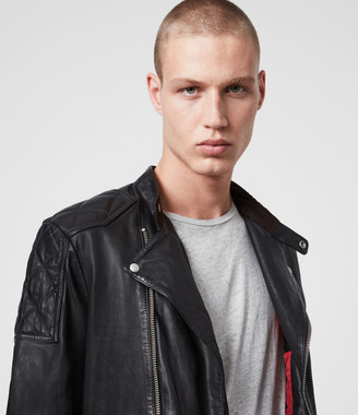 AllSaints Marley Leather Biker Jacket