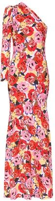 Rebecca Vallance Blume crApe gown