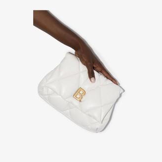 Balenciaga white Touch leather clutch bag