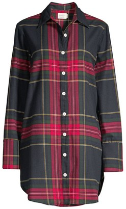 Maison du Soir Sam Plaid Sleepshirt