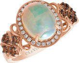 Le Vian Chocolatier Le Vian 14ct Strawberry Gold Opal & Chocolate Diamond Ring