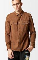Volcom Ketil Flannel Long Sleeve Button Up Shirt