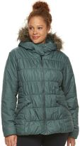 Columbia Plus Size Sparks Lake Hooded Thermal Coil Jacket