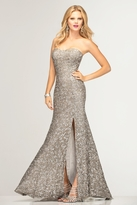 Scala 47526 Dress in Lead and Silver