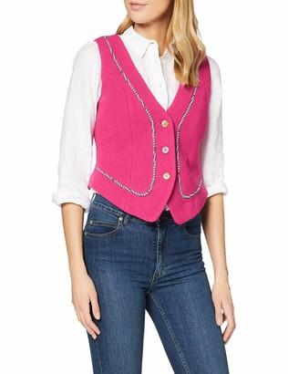 Joe Browns Women's Funky Fuchsia Waistcoat Jacket 16