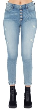 Thumbnail for your product : Rewash Juniors' Julie Ripped Jeggings