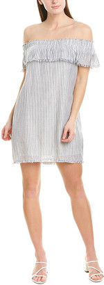 Greylin Off-The-Shoulder Shift Dress