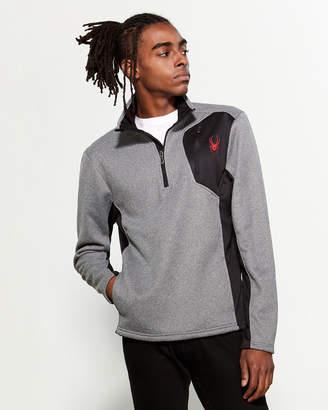 Spyder Quarter-Zip Bonded Sweater