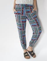 Fat Face Tribal Geo Printed Trousers