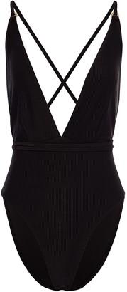 Topaz Swim Sienna Luxe Swimsuit Midnight Black
