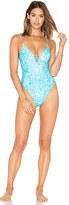 Issa de' mar Temae One Piece in Blue. - size S (also in XS)