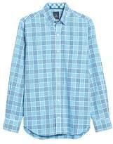 Tailorbyrd Men's Gretna Print Sport Shirt