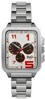 Dolce & Gabbana Men's Quartz Watch with Black Dial Analogue Display Quartz Stainless Steel DW0185