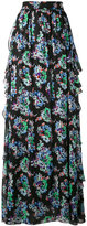 MSGM floral maxi skirt - women - Silk/Polyester - 40
