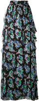 MSGM floral maxi skirt - women - Silk/Polyester - 42