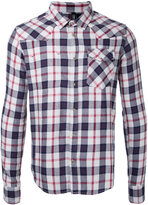 Factotum snap button check shirt - men - Cotton - 44