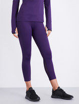 Varley Lexington cropped stretch-jersey leggings