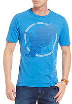 Daniel Cremieux Jeans Eagle Short-Sleeve Crewneck Graphic Tee