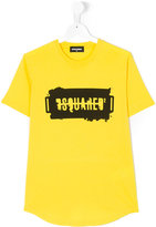 DSQUARED2 Teen logo print T-shirt - kids - Cotton - 14 yrs
