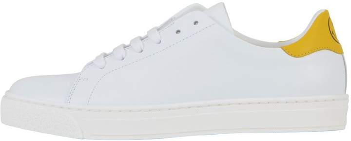 Anya Hindmarch White Leather Sneaker
