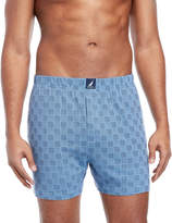Nautica Knit Printed Boxers