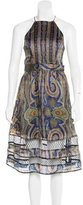 Zimmermann Silk Printed Dress