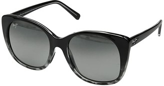 Maui Jim Mele (Black/Grey Tortoise/Neutral Grey) Athletic Performance Sport Sunglasses