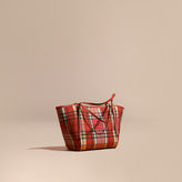 Burberry The Small Canter in Overdyed Horseferry Check