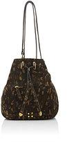 Jerome Dreyfuss WOMEN'S ALAIN SMALL BUCKET BAG-TAN