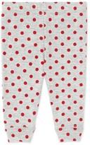 Petit Bateau Baby girls polka dot leggings