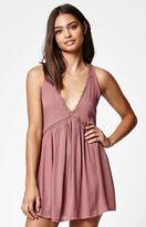 KENDALL + KYLIE Kendall & Kylie V-Neck Button Back Dress