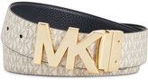 MICHAEL Michael Kors Reversible Plaque Belt