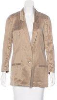 Diane von Furstenberg Shade Button-Up Blazer