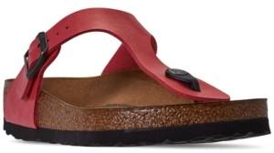 Birkenstock Women's Gizeh Birko-Flor Soft Footbed Casual Sandals from Finish Line