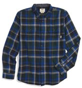 Vans Elm Plaid Flannel Shirt (Big Boys)
