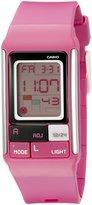 Casio Kids' LDF-52-4ADR Poptone Digital Display Quartz Watch