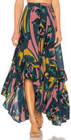 Free People Bring Back The Summer Maxi Skirt in Black. - size 0 (also in 2)