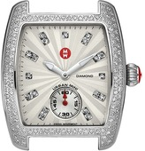 Michele Urban Mini Diamond, Diamond Dial Silver/Steel Watch Head Watches